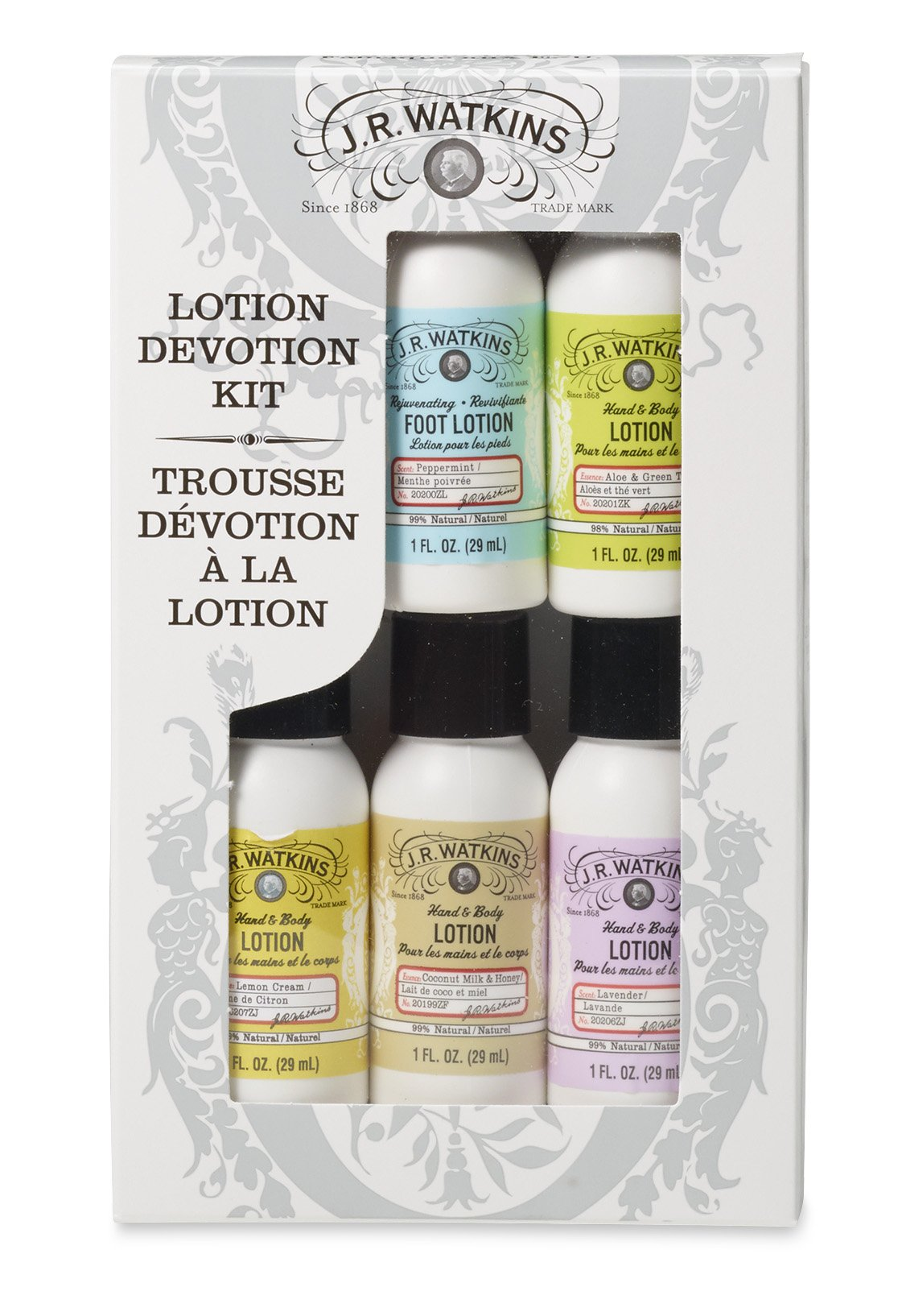 Pokupki customer account login/downloader - J R Watkins Skin Care Gift Set Lotion Devotion Hand Body Lotion Foot