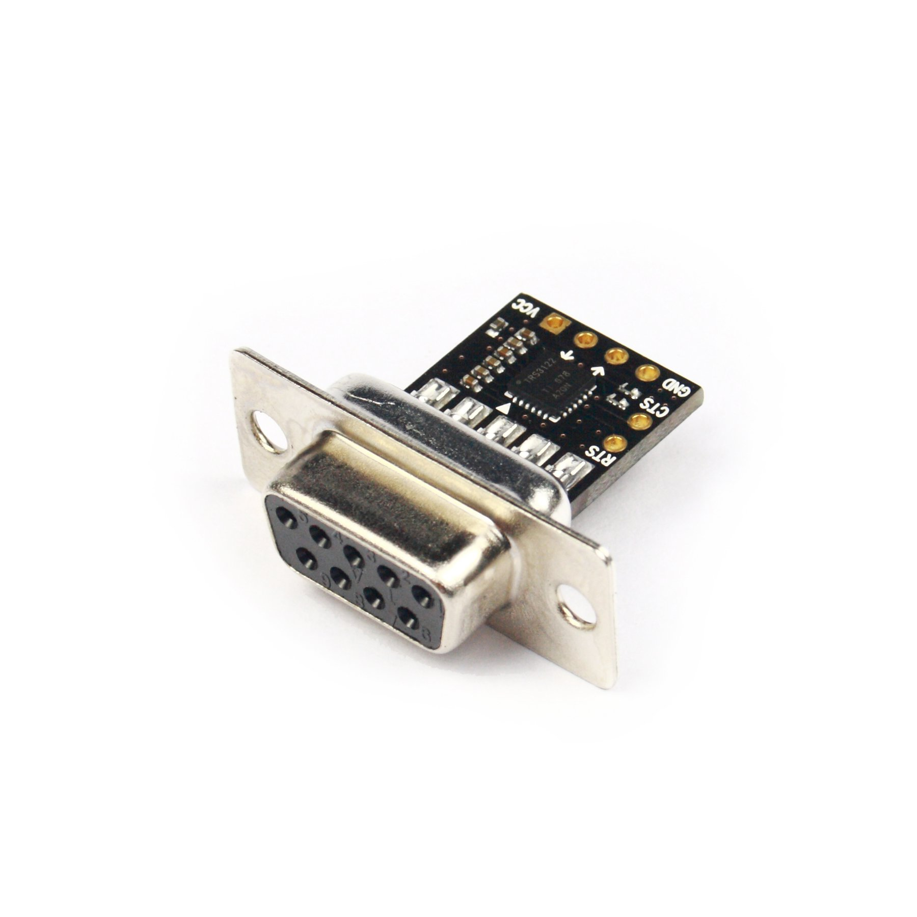 Ultra Compact RS232 to TTL Converter with Female DB9 (1.8V 3.3V 5V, up to 1Mbps)