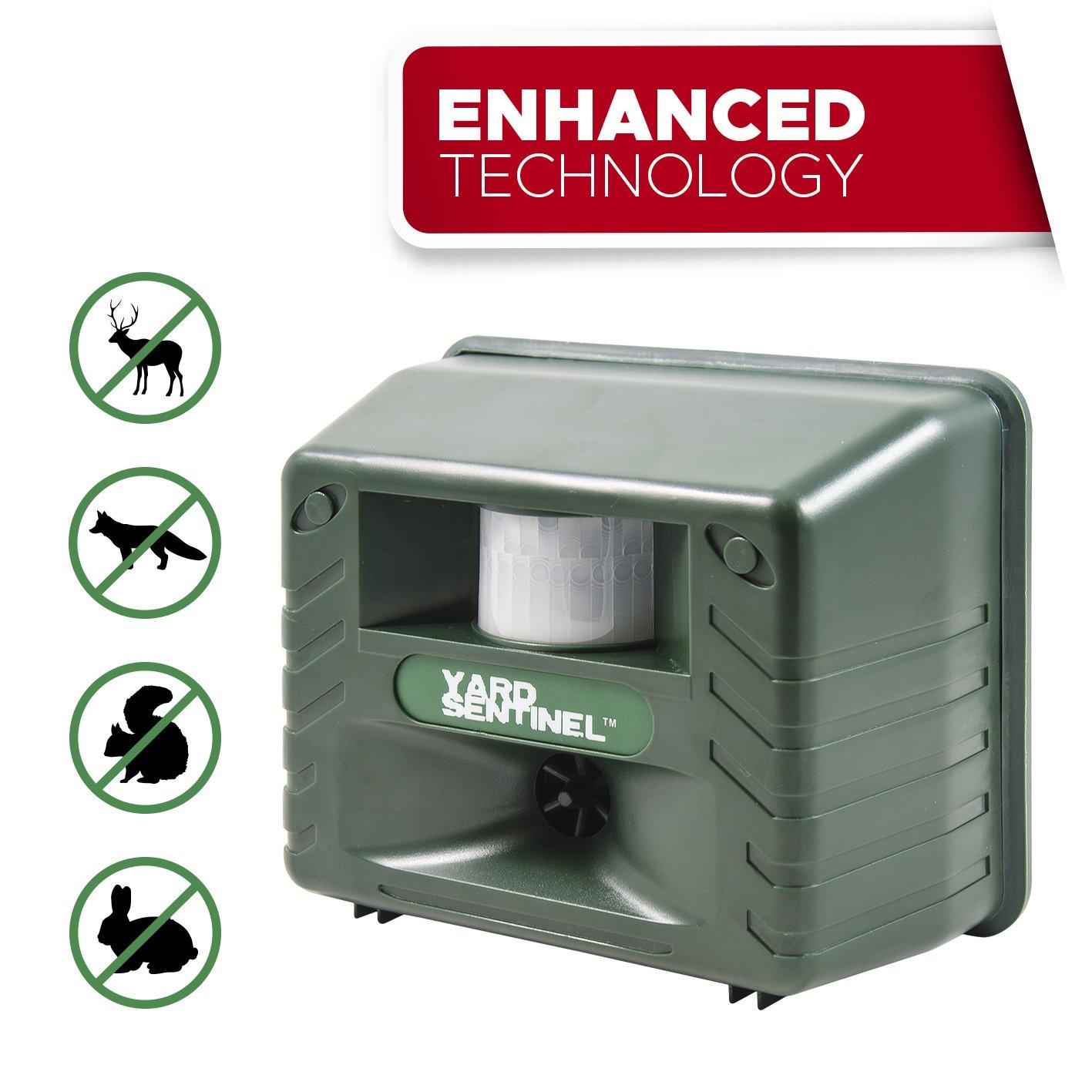 yard sentinel electronic ultrasonic pest repeller animal control