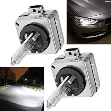 BMW 700 7 Series E65 E66 HID Xenon OEM Light Bulbs Replacement D2S 8000K 12V 35W