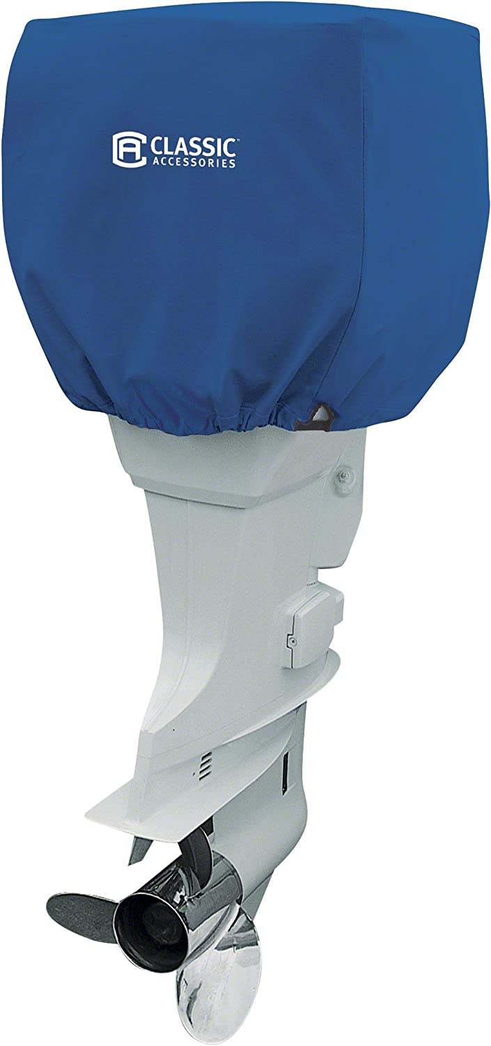 Classic Accessories Stellex Trailerable Outboard Boat Motor Cover