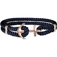 Amtier Ankerarmband für Männer Frauen Paare Pärchen mit Geschenkbox, Herren Damen Ankerarmbänder Unisex Armband