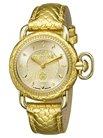 Roberto Cavalli by Frank Muller Moving Crown Detail Womens 36mm Watch  RV1L017L0036 f21ae2245ff