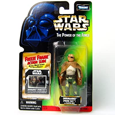 Star Wars The Power of the Force Freeze Frame Orrimaarko (Prune Face) Action Figure 3.75 Inches: Toys & Games