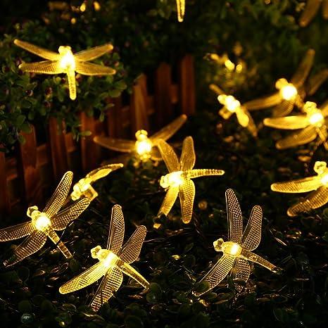 the best attitude edc2d 93f9f Amazon.com : TechCode Garden String Lights, Solar Powered ...