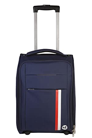3G Polyester 20 Blue Soft Sided Suitcases & Trolley Bags