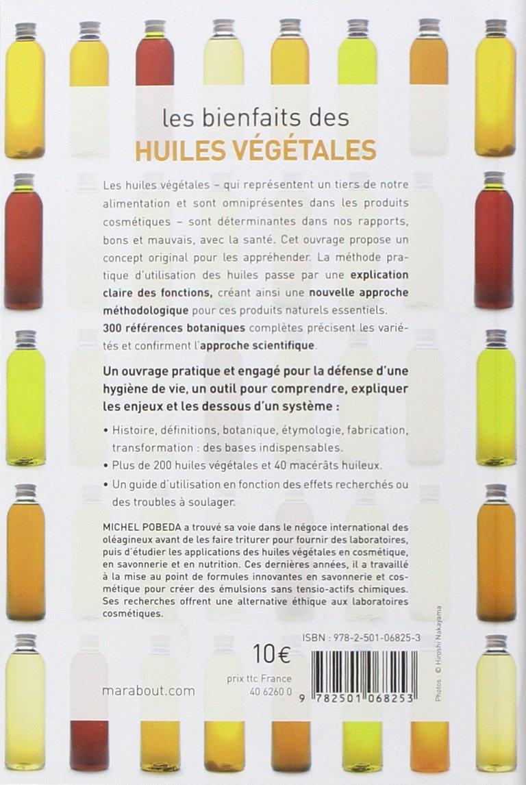 propriétés des huiles végétales alimentaires