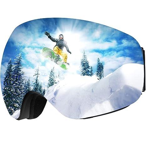 746c1cce11f Amazon.com   OMORC OTG Ski Goggles