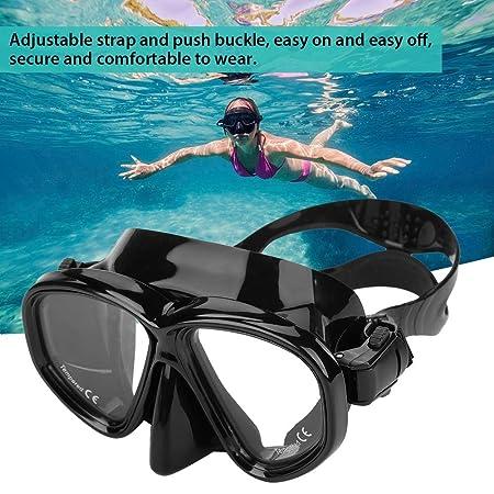 8f08420b13 Máscara de buceo de vidrio templado gafas de natación Máscara de snorkel  para adultos Equipo de buceo: Amazon.com.mx: Deportes y Aire Libre