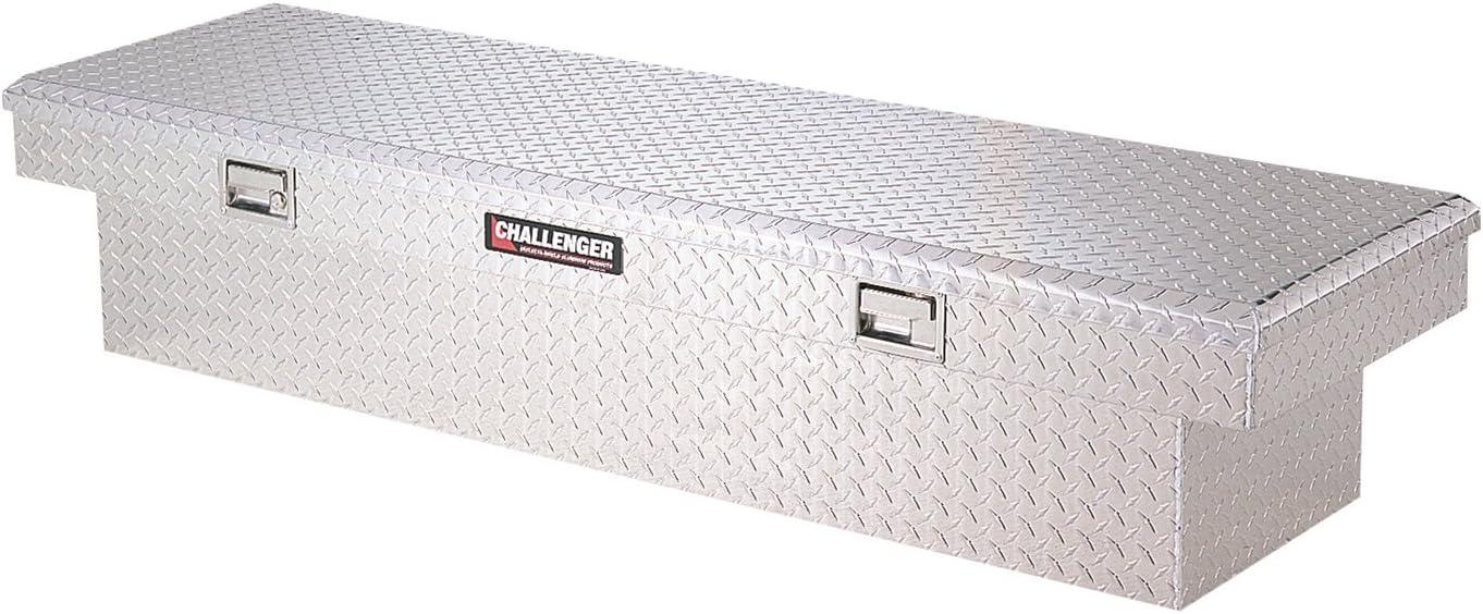Lund 5900LP Challenger Series Brite Low-Profile Single-Lid Crossover Specialty Storage Box
