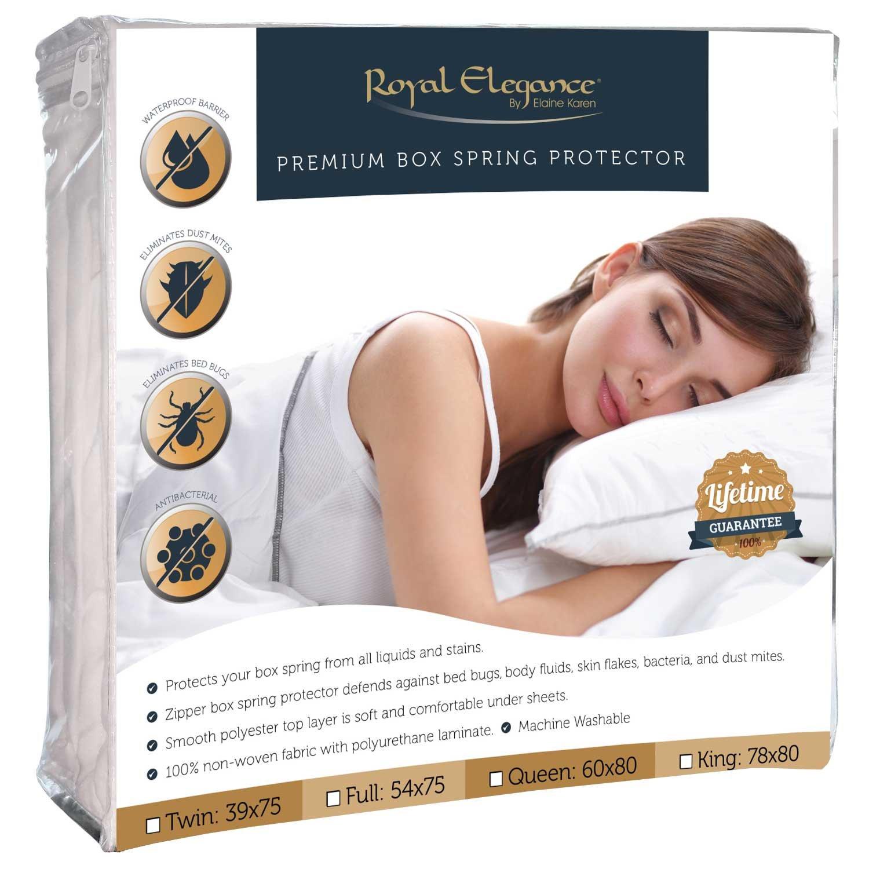 Elaine Karen Deluxe Bed Bug - Box Spring Encasement, QUEEN Size 60 x 80 COMINHKR081405