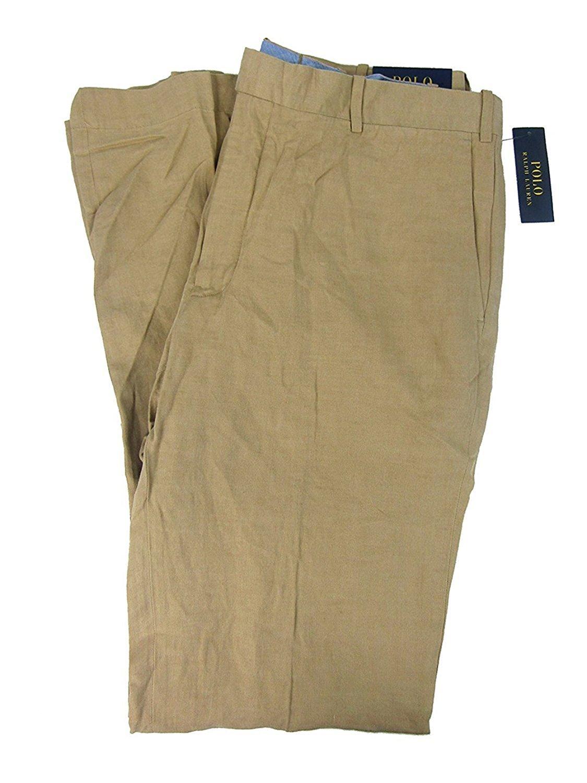 Polo Ralph Lauren Men's Big & Tall Classic-Fit Chino Pants (46B X 30, Beige)