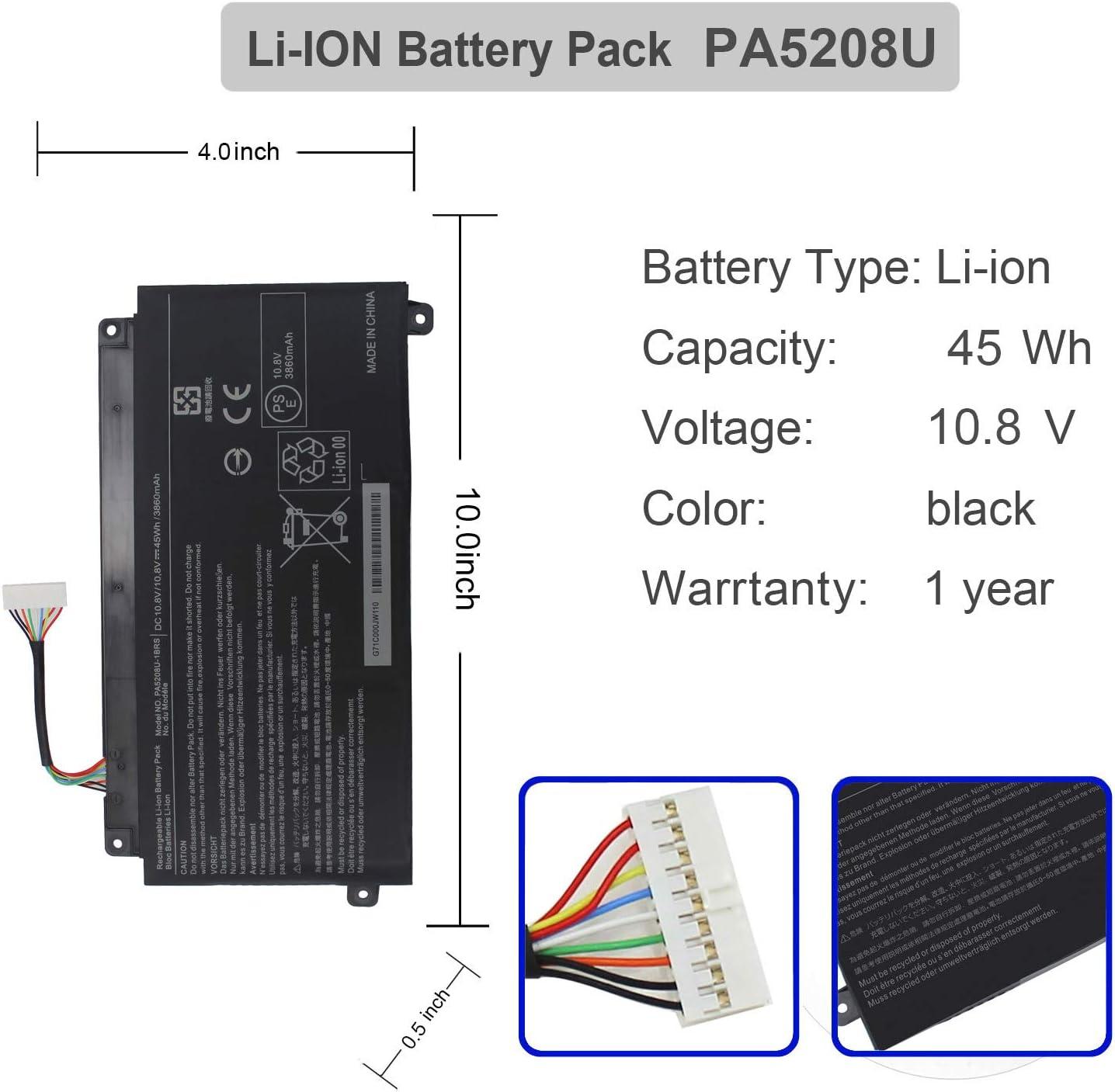 PA5208U-1BRS Laptop Battery for Toshiba Chromebook 2 13.3 CB30 ...