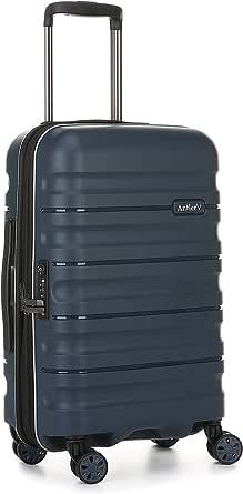 Antler Juno 2 4W Cabin Roller Carry-On Hardside, Navy, 56cm