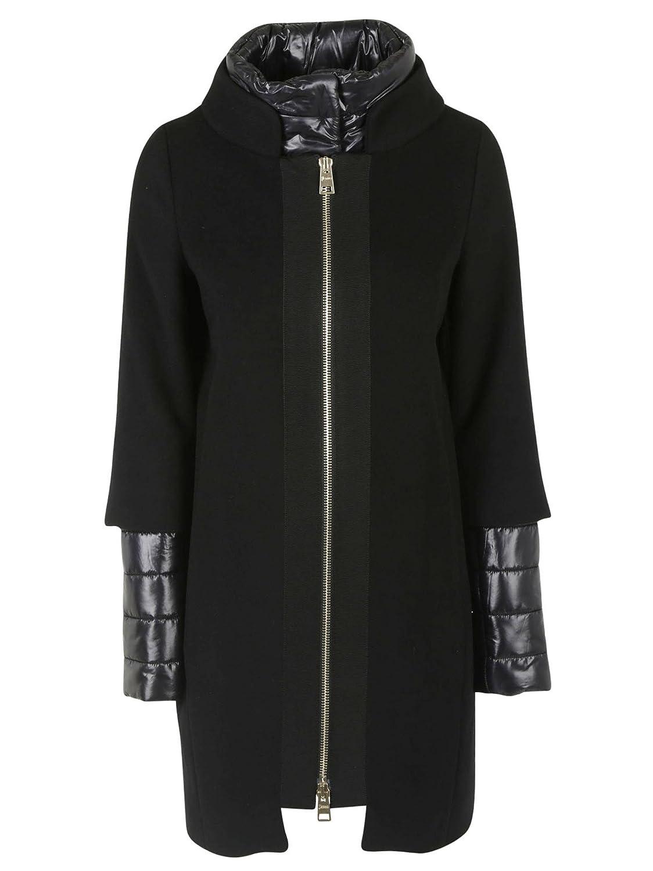 herno damen ca0089d390619300 schwarz wolle mantel jetzt kaufen. Black Bedroom Furniture Sets. Home Design Ideas