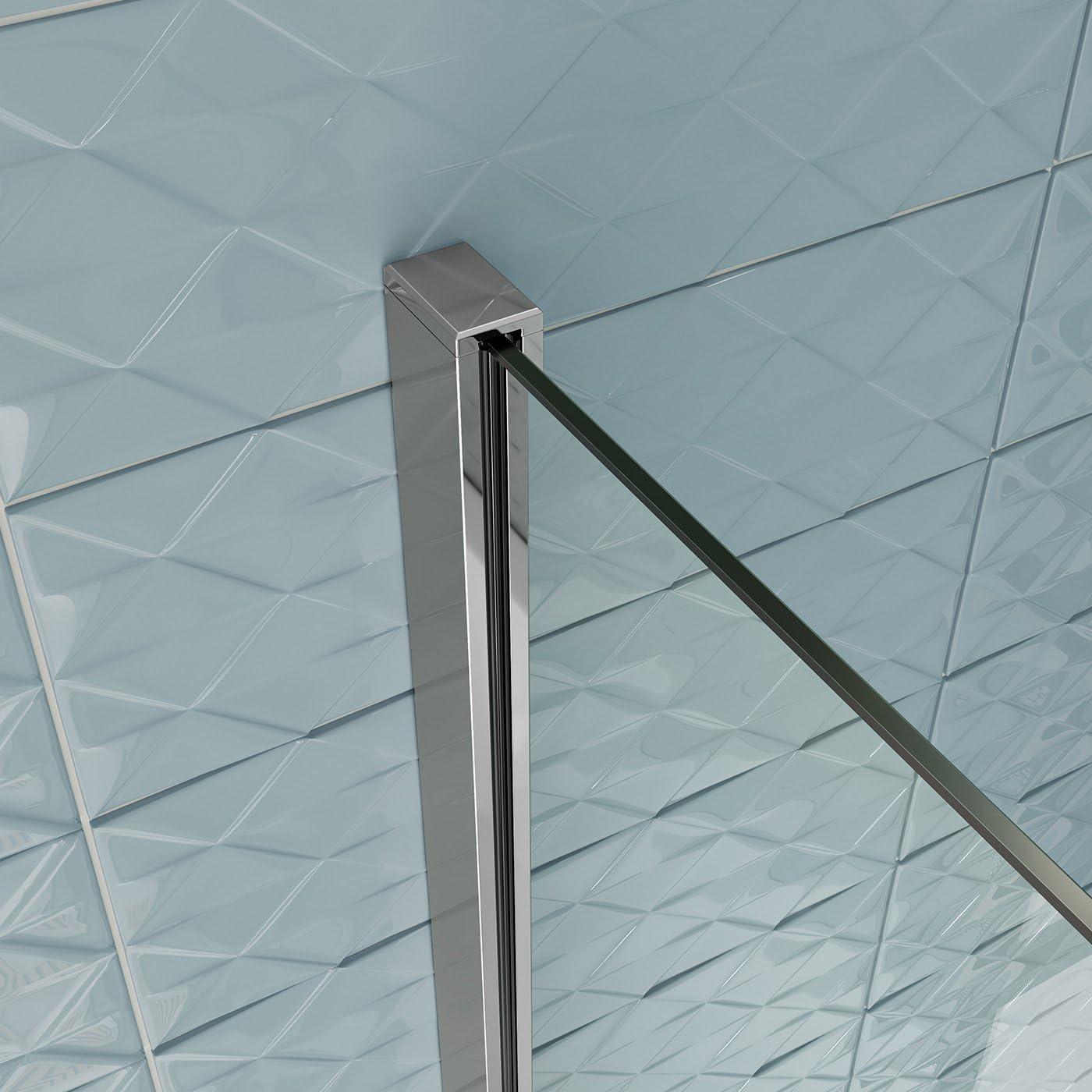 1700 mm mano izquierda en forma de L con pantalla de ducha recto + Panel BL118: iBathUK: Amazon.es: Hogar