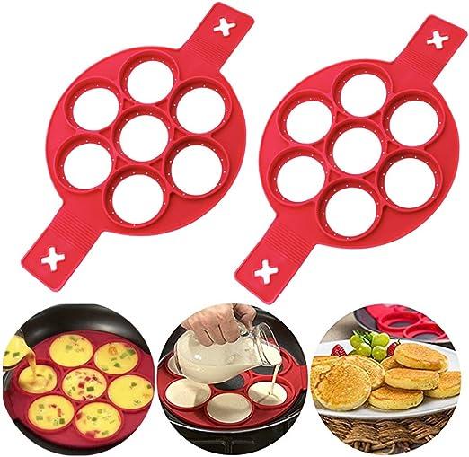 Make Easy Pancakes Eye Egg Cool New Egg Cooker Pan Flip Eggs Mold Kitchen Baking