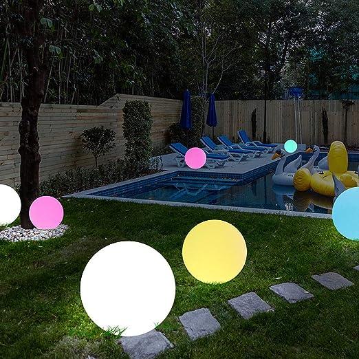 GXKLYPW Luces LED Flotantes, con Luz Solar De Color Cambiante para El Aire Libre Impermeables para Jardín Lámparas De Fiesta De Piscina, De Césped Villas Jardín Patio Lámpara Solar Lámpara: Amazon.es: Jardín