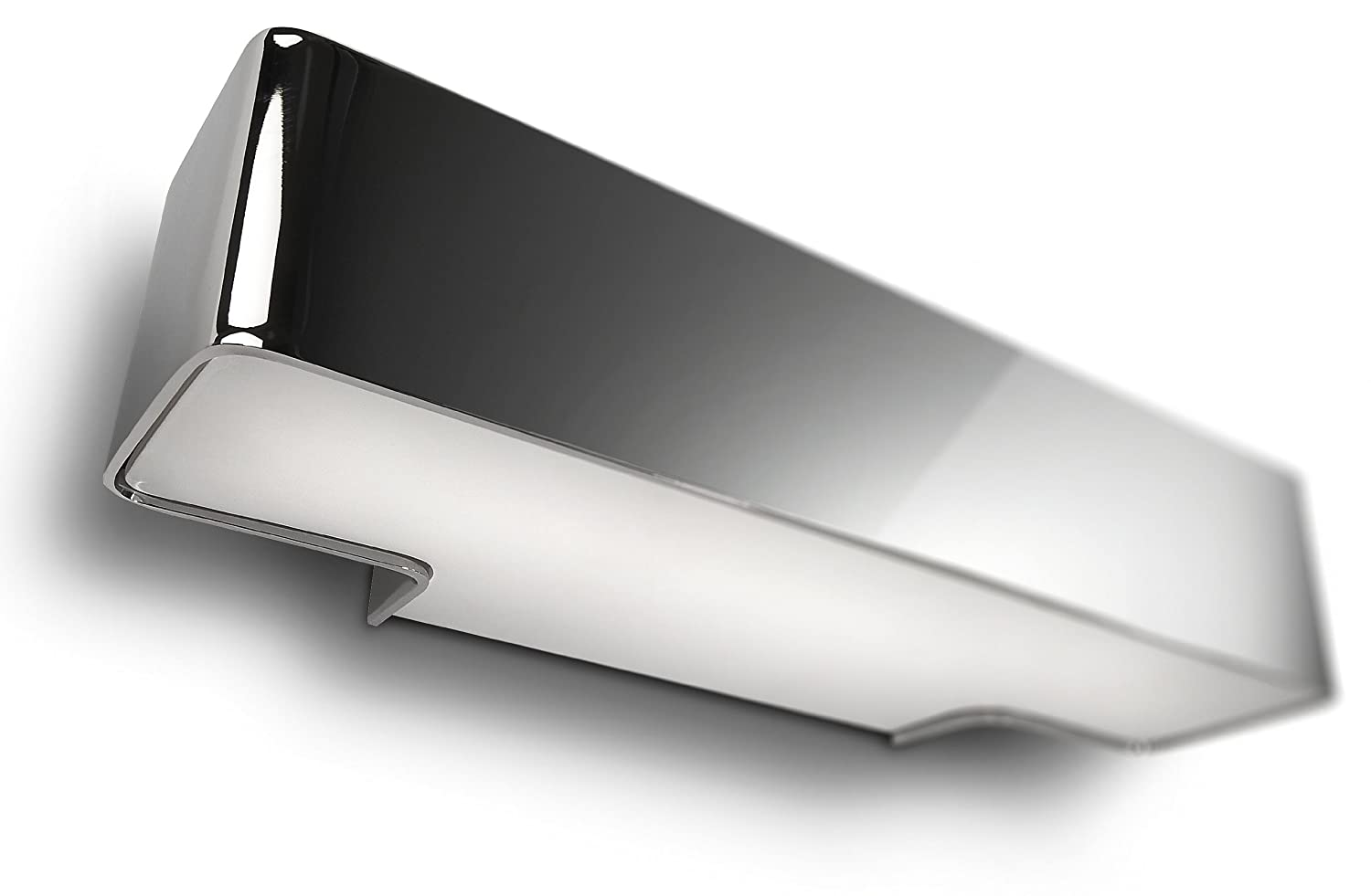 Philips ecomoods up and down wall light shiny chrome effect