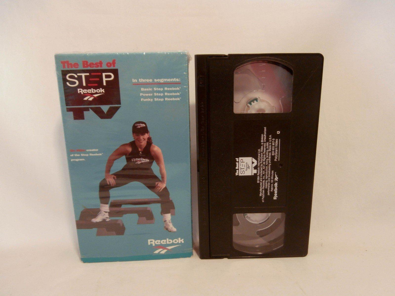 Step Reebok: Best of Step Reebok TV [VHS]