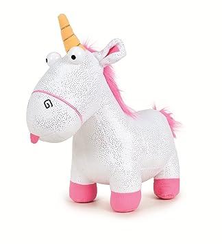 Peluche Gru 3, Mi Villano Favorito - Unicornio Fluffy con brillos 25 Cm - 760016659