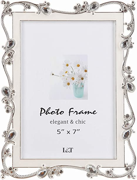3 12 x 5 Frame Red Jewelled and Enamel Metal with Glass Options