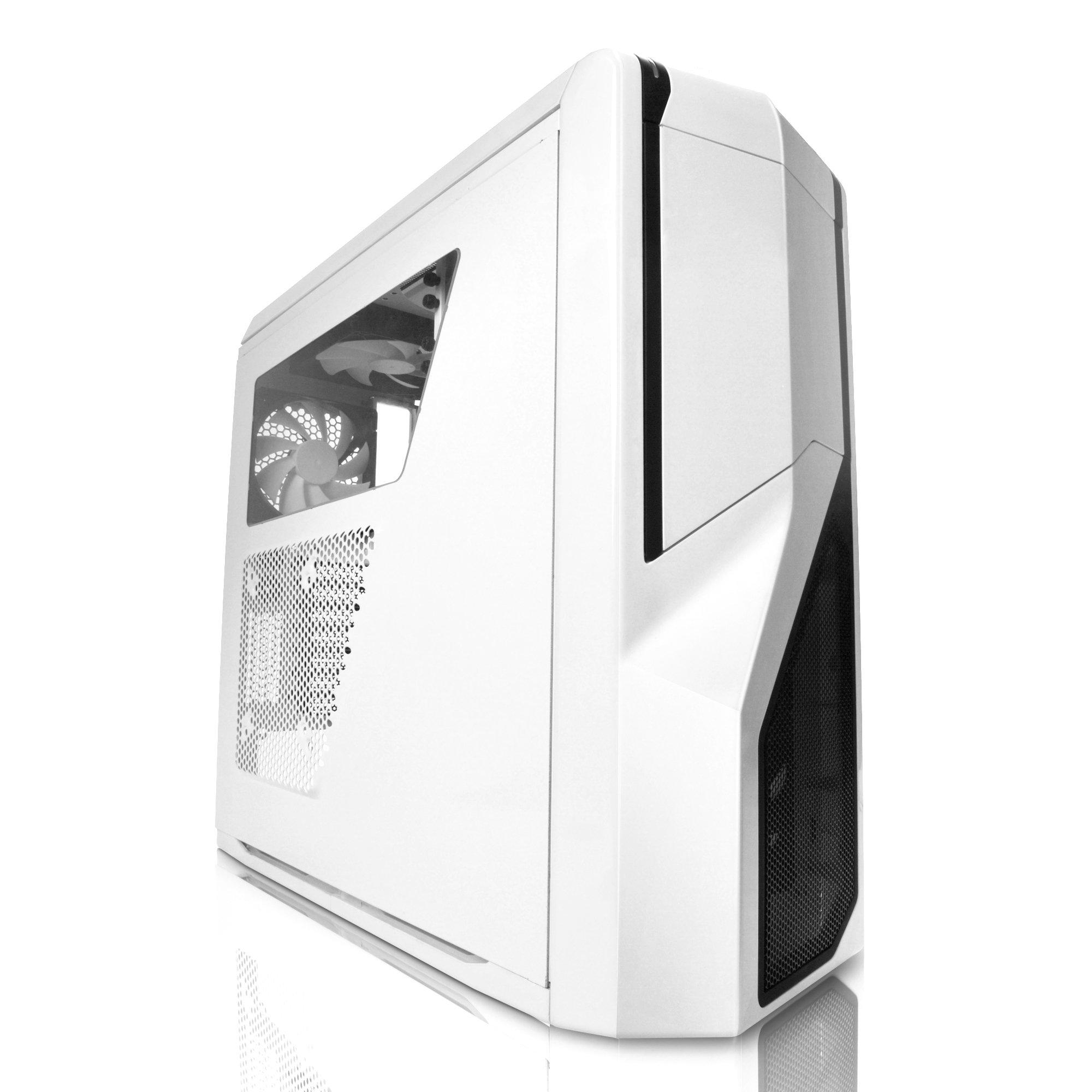 NZXT Phantom 410 Computer Case , White (CA-PH410-W1)