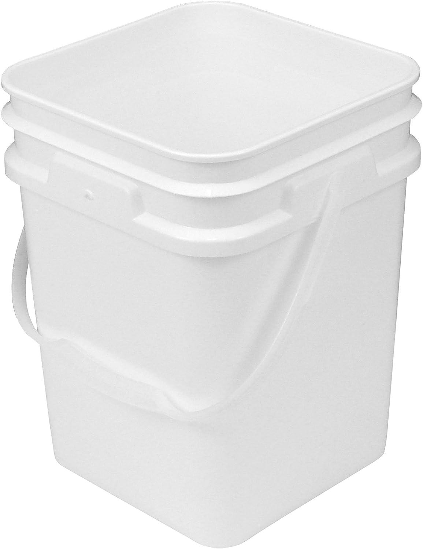 4-Gallon Square Bucket