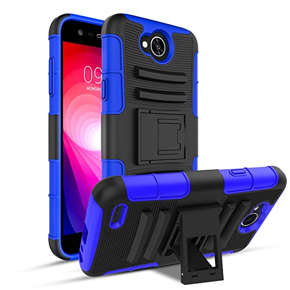 buy popular 99f3f fd512 OEAGO LG X Charge Case, LG Fiesta 2 LTE Phone Case, LG Fiesta LTE Case, LG  X Power 2 (2017) Case, [Shockproof] [Impact Protection] Tough Rugged Dual  ...