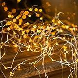 HEG Handelsgeschaft mbH Kölle LED Regen 180 Lichter, Silberdraht, warmweiß