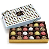 Godiva Chocolatier 24 Piece Patisserie Chocolate Truffle Gift Box, Assorted Desserts, Great for Mother's Day