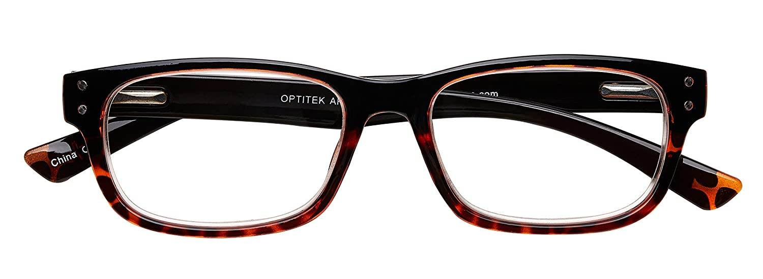 9aa5e8cf57f Amazon.com  Select-A-Vision Optitek Hi-Tech Plastic Square AR Reading  Glasses