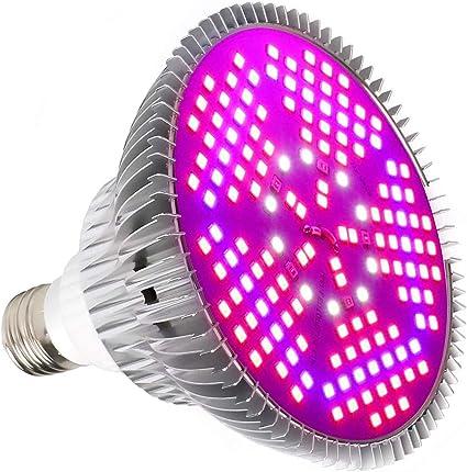 E27 100W LED Wachsen Licht Pflanzenlicht Vollspektrum Lampe Blumen Gemüse Obst