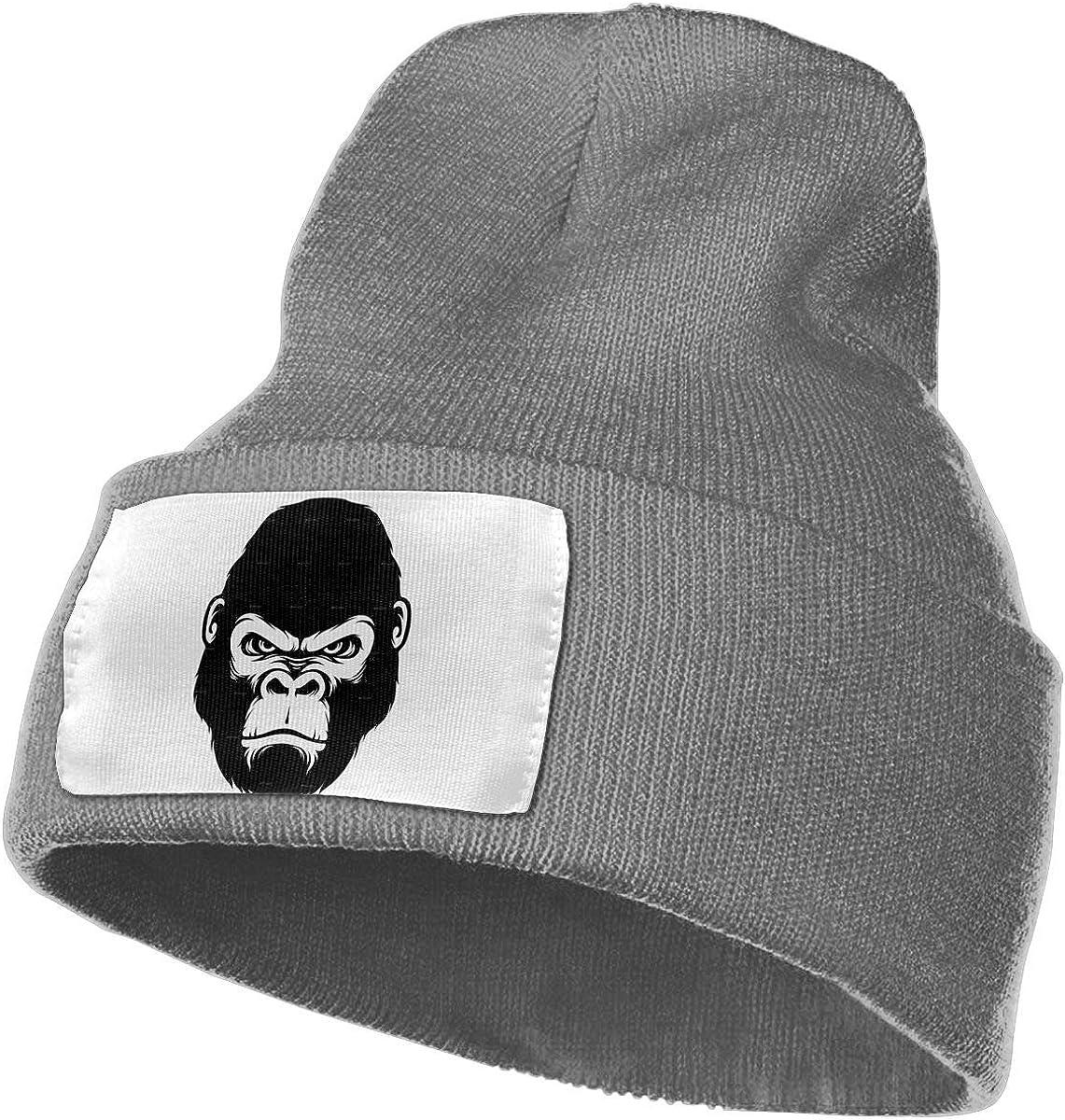 Cool Gorilla Unisex Fashion Knitted Hat Luxury Hip-Hop Cap