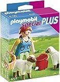 Playmobil - 4765 - Jeu de Construction - Agricultrice avec Moutons