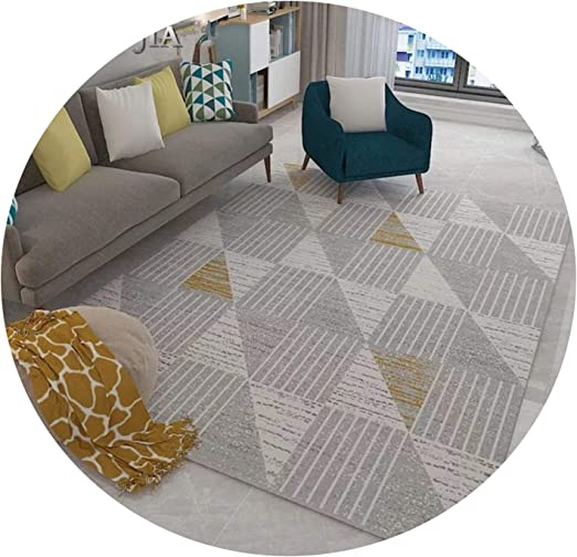 Amazon.com: Scandinavian Style Geometric Carpet Living Room ...