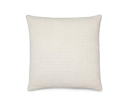 Pleasing Calvin Klein Home Mia Decorative Pillow 20 Square Cream White Andrewgaddart Wooden Chair Designs For Living Room Andrewgaddartcom