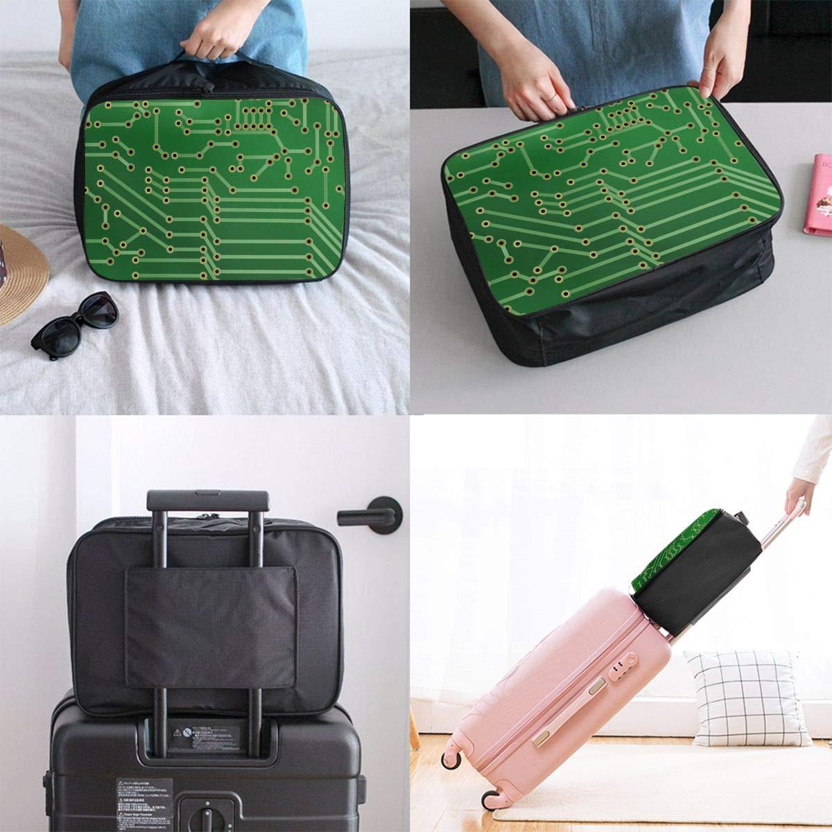 11 Canvas Travel Weekender Bag,Fashion Custom Lightweight Large Capacity Portable Luggage Bag,Suitcase Trolley Bag ADGAI Path-resize