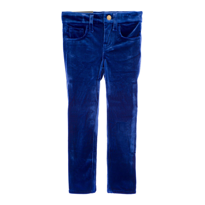 7 For All Mankind Girls Skinny Velvet Legging Jeans, 5 Sapphire