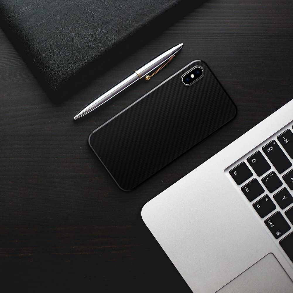 Aclouddate Custodia per iPhone X iPhone XS CaseSoft Silicone Gomma Bumper Telaio Shock Assorbimento Anti Graffio Supporto Wireless Ricarica Compatibile iPhone X Nero