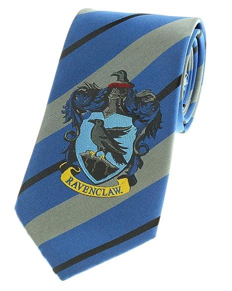 NEW UNWORN Harry Potter House of Ravenclaw Silk Necktie with Crest
