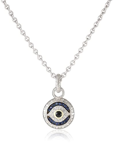 Amazon judith ripka lucky evil eye necklace y shaped judith ripka quotluckyquot evil eye necklace aloadofball Images