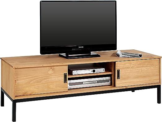 Mueble TV Selma banco Televisión Estilo Industrial Design Vintage ...