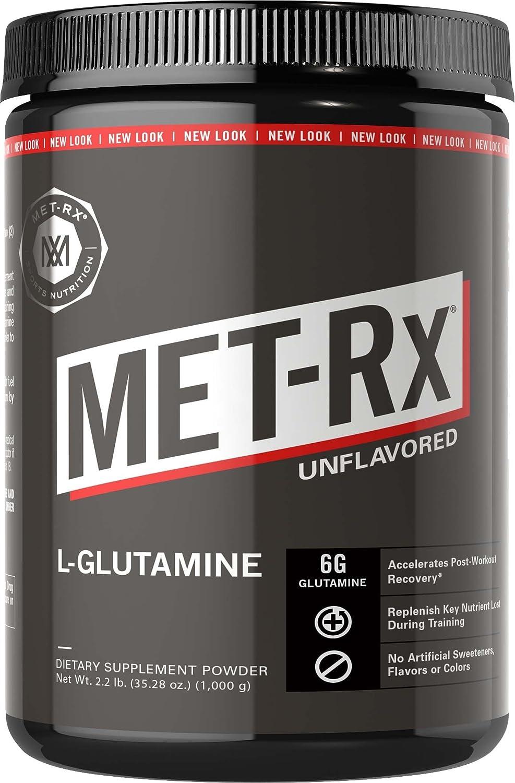 MET-RX社 L-グルタミン パウダー 2.2lbs   B005JMDLW8