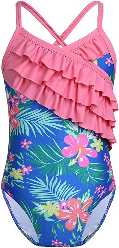 Kid Baby Boy Girl Swimsuit Swimwear Bathing Beach Rash Guard Surfing Suit UPF50+