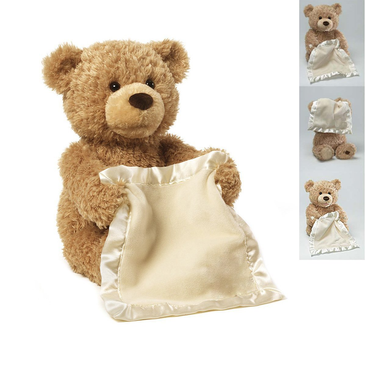 Hide And Play Bear Kids Birthday Christmas Gift Cute Music Bear Plush Toy Peek a Boo Bear Southsun