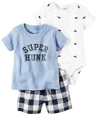 780c7e857 Amazon.com: Carter's Baby Boys' Diaper Cover Sets 121h178: Clothing