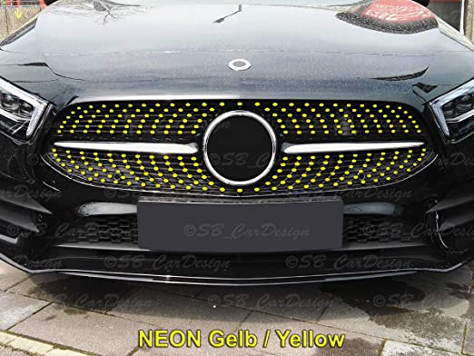 Moligh doll Front Fog Lights Stickers Trim Cover for Mercedes a Class W177 A180 A200 Sports Line Accessories Car Styling