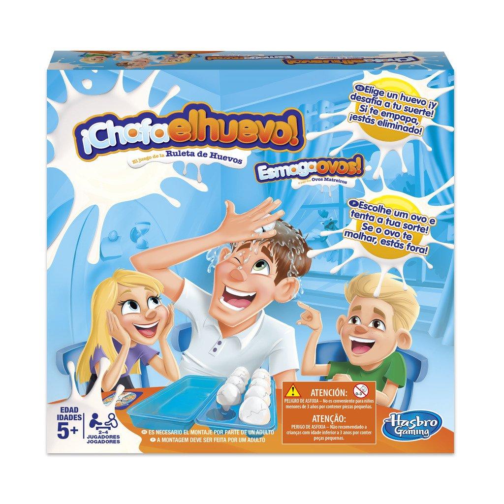 Hasbro Gaming- Chafa el Huevo, (C2473175)