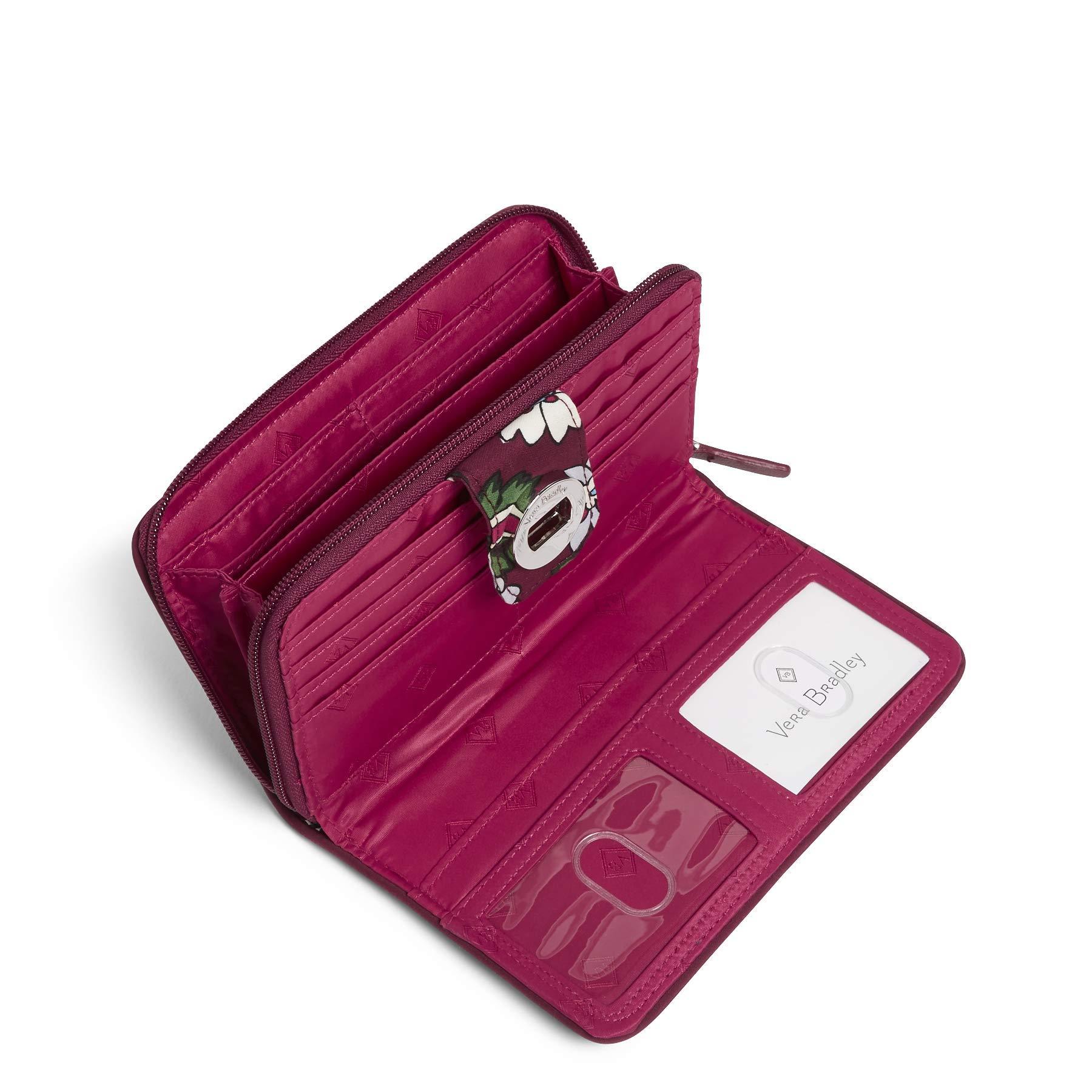 Vera Bradley RFID Turnlock Wallet,  Signature Cotton, One Size by Vera Bradley (Image #3)